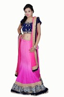 Tehzeeb Chaniya, Ghagra Cholis - Tehzeeb Self Design Women's Lehenga Choli(Stitched)