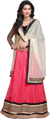 Suitevilla Embroidered Women's Lehenga, Choli and Dupatta Set(Stitched) at flipkart