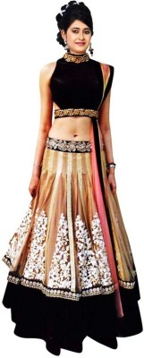 Kavita Fashion Embroidered Women's Lehenga, Choli and Dupatta Set