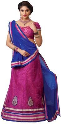 Advait Self Design Women's Lehenga, Choli and Dupatta Set