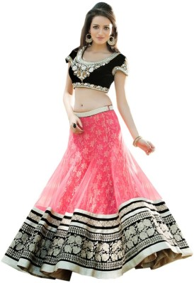 Sixsenseretailers Embroidered Women's Lehenga Choli