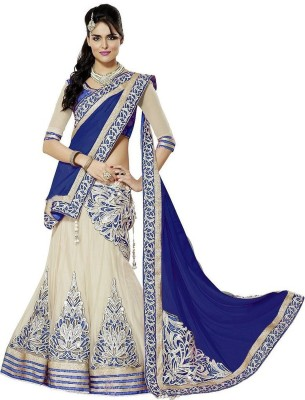 krishna creation Embroidered Women's Lehenga, Choli and Dupatta Set