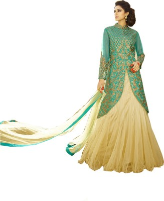 Rajhans Fashion Embellished Women's Lehenga, Choli and Dupatta Set
