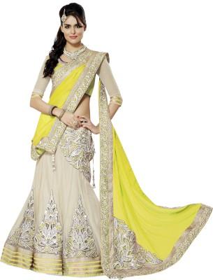 PRN Self Design Women's Lehenga, Choli and Dupatta Set