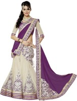Prn Chaniya, Ghagra Cholis - PRN Embroidered Women's Lehenga, Choli and Dupatta Set(Stitched)