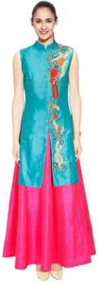 Kmozi Embroidered Women's Lehenga Choli