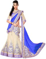 Fashion Zone Chaniya, Ghagra Cholis - My Fashion Zone Embroidered Women's Lehenga, Choli and Dupatta Set(Stitched)