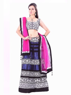 Silkbazar Self Design Womens Lehenga Choli