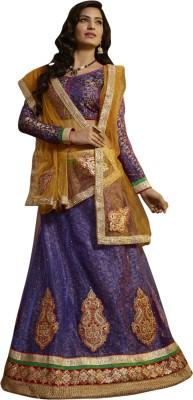 Jiya Self Design, Embellished Women's Lehenga, Choli and Dupatta Set