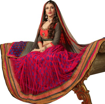 Avtrendz Embroidered Women's Lehenga, Choli and Dupatta Set