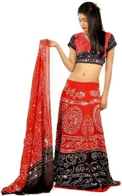 Sunshine Self Design Women's Lehenga, Choli and Dupatta Set