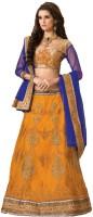 Stylezone Chaniya, Ghagra Cholis - Stylezone Embroidered Women's Lehenga, Choli and Dupatta Set(Stitched)