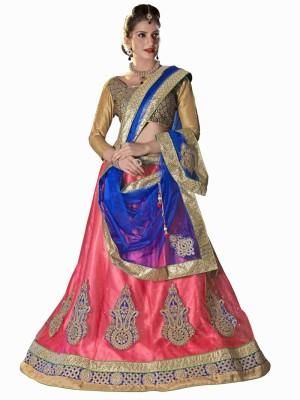 StyleWorld Self Design Women's Ghagra, Choli, Dupatta Set