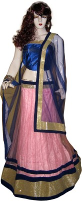 Modish Vogue Self Design Women's Lehenga, Choli and Dupatta Set