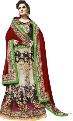 Ishin Embellished Women's Lehenga, Choli and Dupatta Set