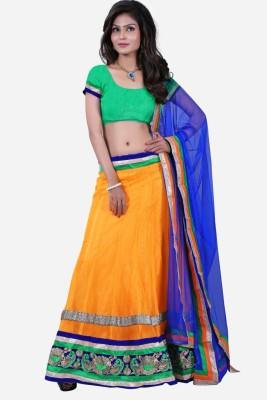 Sheryl Trendz Embroidered Women's Lehenga, Choli and Dupatta Set