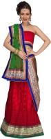 La Panache Chaniya, Ghagra Cholis - La Panache Self Design Women's Lehenga Choli(Stitched)
