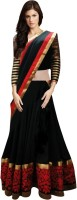Zfashion Chaniya, Ghagra Cholis - Zfashion Striped Women's Lehenga, Choli and Dupatta Set(Stitched)