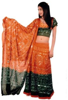 Pezzava Self Design Women's Lehenga Choli