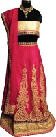 Pitaarah Chaniya, Ghagra Cholis - PITAARAH Embroidered Women's Lehenga, Choli and Dupatta Set(Stitched)