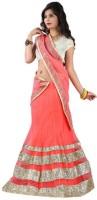 Hitesh Enterprise Chaniya, Ghagra Cholis - Hitesh Enterprise Embroidered Women's Ghagra Choli(Stitched)