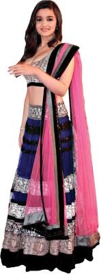 Shoppingekart Embroidered Women's Lehenga, Choli and Dupatta Set