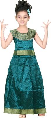 Bhartiya Paridhan Self Design Girl,s Lehenga Choli