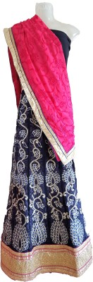 Skhoza Embroidered Women's Lehenga, Choli and Dupatta Set
