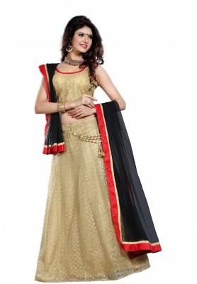 Fashionuma Self Design Women's Lehenga, Choli and Dupatta Set