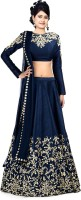 Femina Fashion Chaniya, Ghagra Cholis - femina fashion Self Design Women's Lehenga, Choli and Dupatta Set(Stitched)