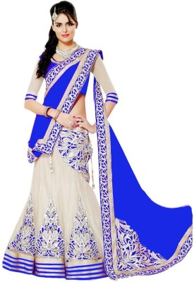 Jp Enterprise Embroidered Women's Ghagra, Choli, Dupatta Set