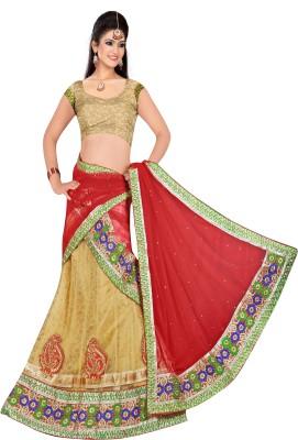 Sonika Embroidered Women's Lehenga, Choli and Dupatta Set