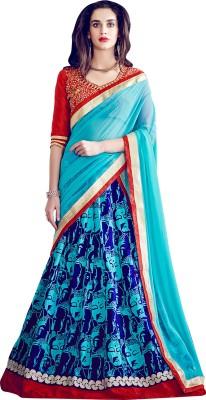 Hitansh Fashion Printed Women,s Lehenga, Choli and Dupatta Set
