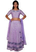 Aggana Chaniya, Ghagra Cholis - Aggana Self Design Women's Lehenga, Choli and Dupatta Set(Stitched)