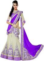 Saree Bazaar Chaniya, Ghagra Cholis - Saree Bazaar Embroidered Women's Lehenga, Choli and Dupatta Set(Stitched)