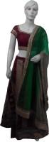 Aarzoo Chaniya, Ghagra Cholis - Aarzoo Self Design Women's Lehenga, Choli and Dupatta Set(Stitched)