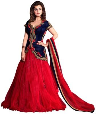 SkyBlue Fashion Anarkali