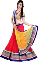 Rk Fashion Chaniya, Ghagra Cholis - RK Fashion Self Design Women's Lehenga, Choli and Dupatta Set(Stitched)