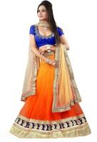 Colourtrendz Chaniya, Ghagra Cholis - Colourtrendz Embroidered Women's Lehenga, Choli and Dupatta Set(Stitched)