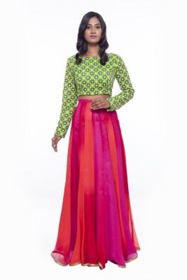Soucika Self Design Women,s Lehenga Choli
