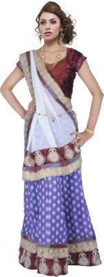 Suvastra Designer Embroidered Women's Ghagra, Choli, Dupatta Set