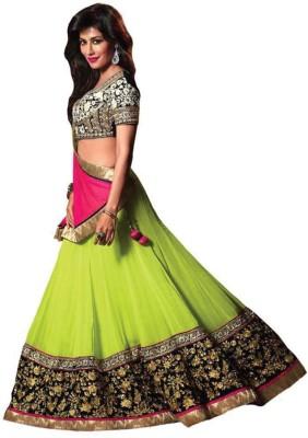 Krishna7 Enterprise Embroidered Women's Lehenga, Choli and Dupatta Set
