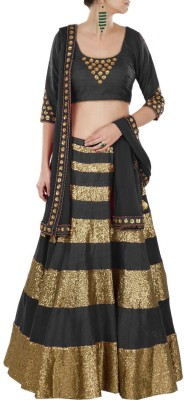 Loot Lo Creation Self Design Women's Ghagra, Choli, Dupatta Set