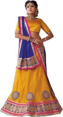 Manthan Embroidered Women's Lehenga, Choli and Dupatta Set