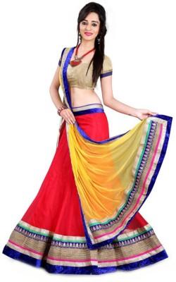 Akshit Creation Self Design Women's Lehenga, Choli and Dupatta Set