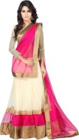 Anu Clothing Chaniya, Ghagra Cholis - Anu Clothing Embroidered Women's Lehenga, Choli and Dupatta Set(Stitched)