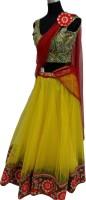 Td Designers Chaniya, Ghagra Cholis - Td Designers Embroidered Women's Lehenga, Choli and Dupatta Set(Stitched)