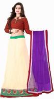 Khushali Chaniya, Ghagra Cholis - Khushali Self Design Women's Lehenga, Choli and Dupatta Set(Stitched)
