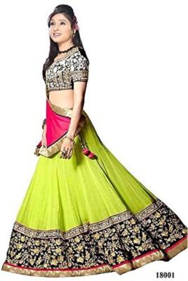 Fashion Rudraksh Embroidered Women's Lehenga, Choli and Dupatta Set