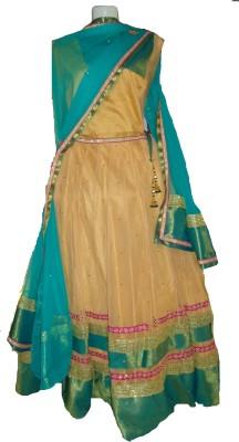 Varsha Sampath Self Design Women's Lehenga, Choli and Dupatta Set